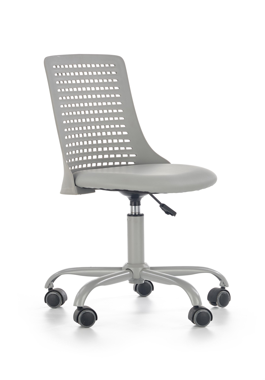 PURE kancelárska stolička, šedá
