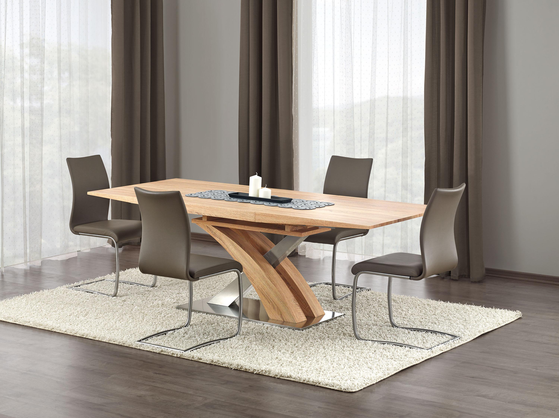 SANDOR rozkladací stôl zlatý dub