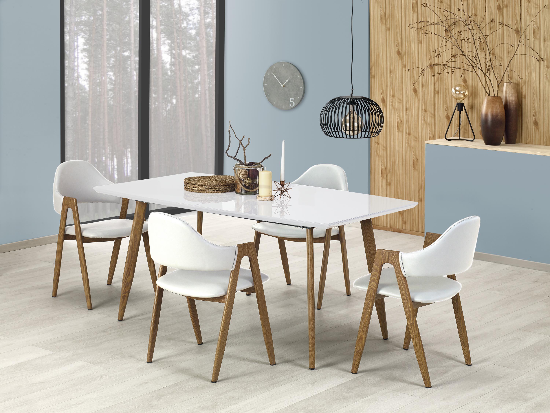 RUTEN stôl biela