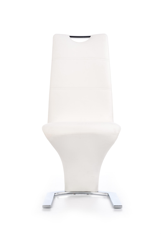 K291 jedálenská stolička, biela