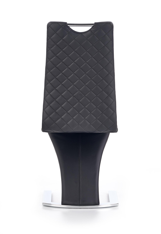 K291 jedálenská stolička, čierna