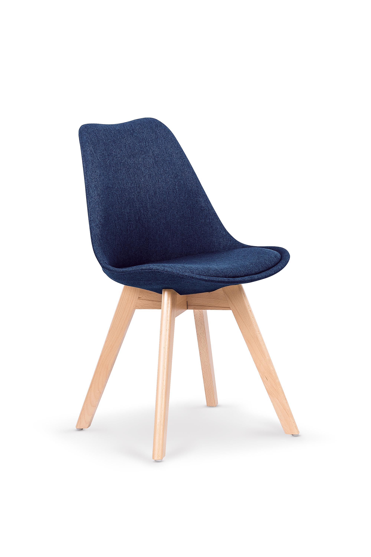 K303 jedálenská stolička, tmavo modrá