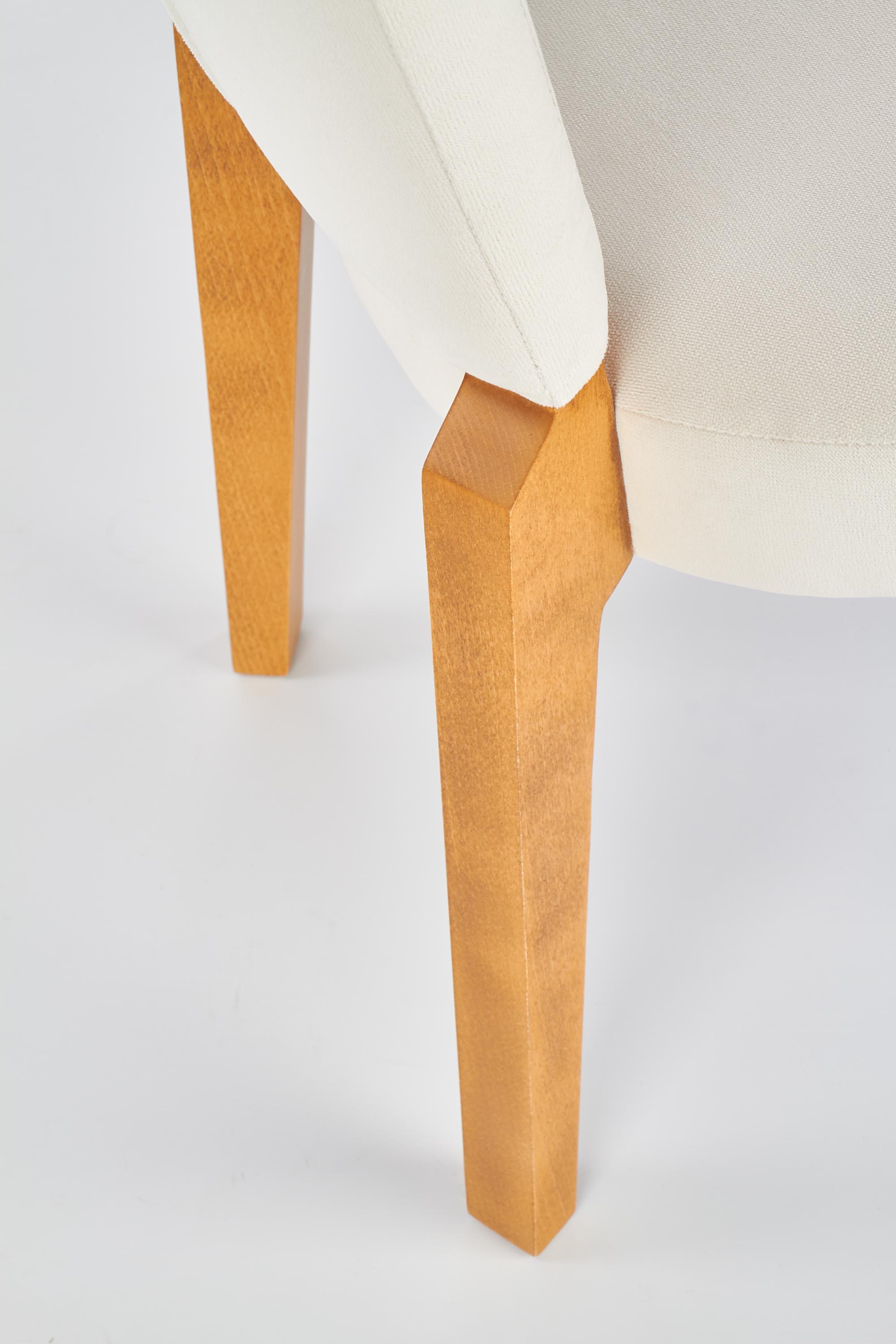 ROIS jedálenská stolička, medový dub / krém