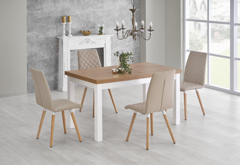 TIAGO 2 rozkladací stôl dub lancelot