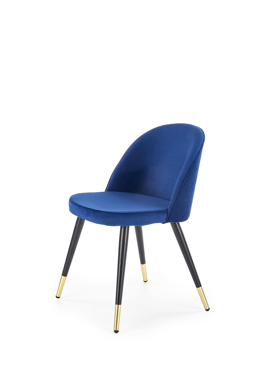 K315 jedálenská stolička, tmavo modrá
