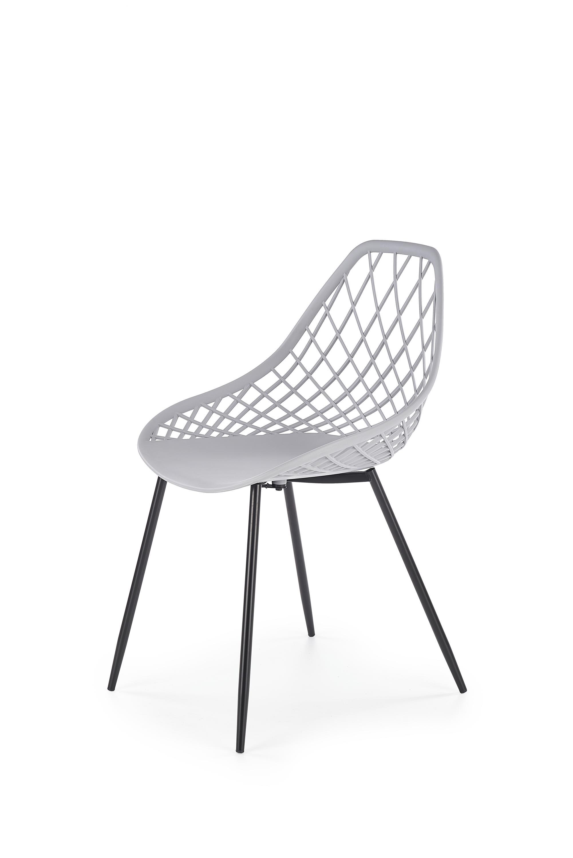 K330 jedálenská stolička, svetlo šedá
