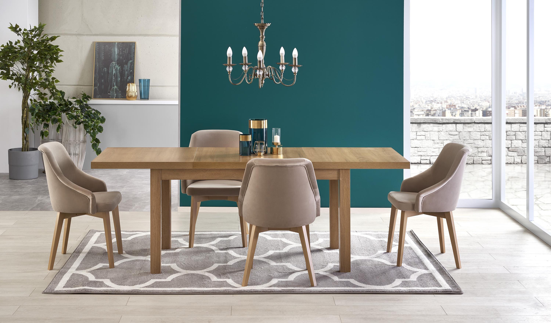 TIAGO 2 rozkladací stôl riviera dub / riviera dub