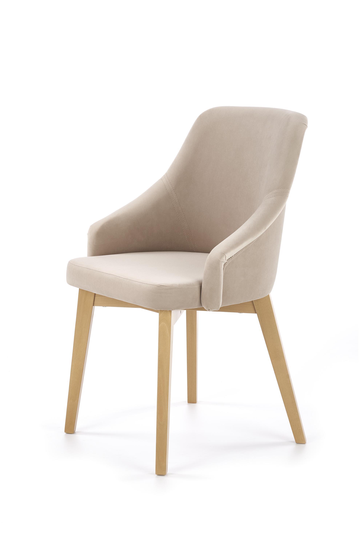 TOLEDO 2 jedálenská stolička, medový dub / SOLO 252