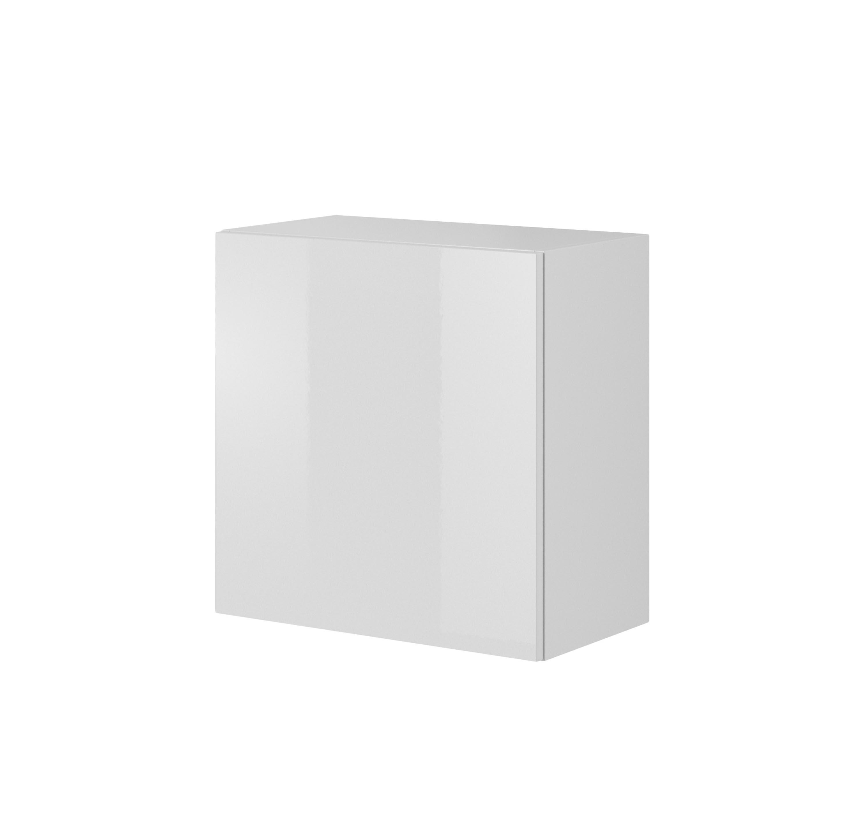 LIVO W-55 závesná komoda, biela