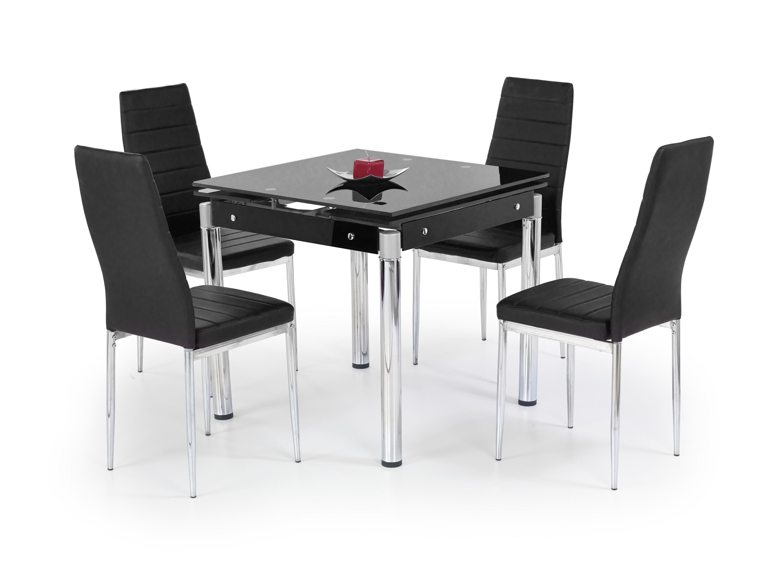 KENT rozkladací stôl čierna
