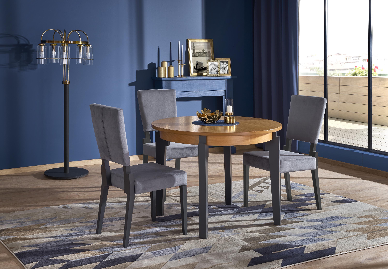 SORBUS stôl zlatý dub / grafit