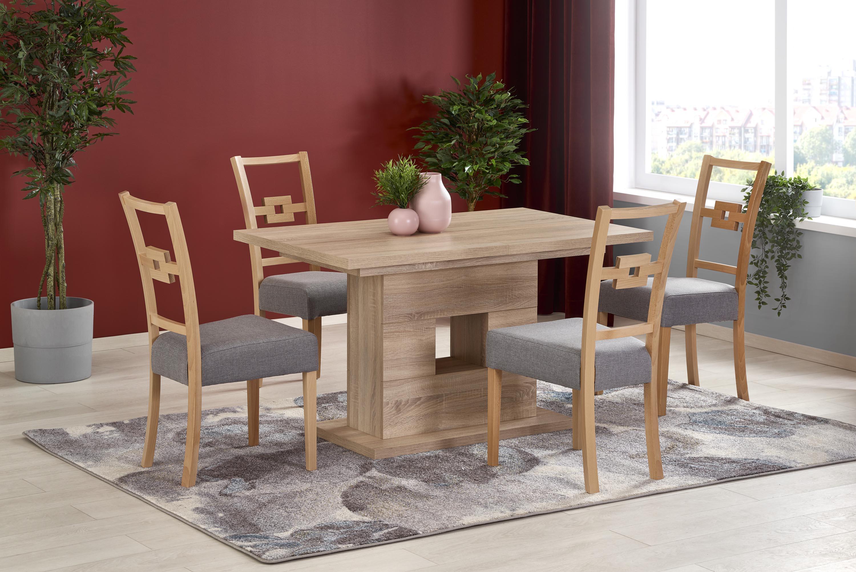 FRAN stôl dub sonoma