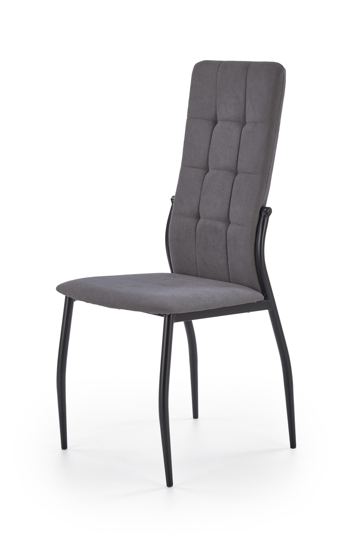 K334 jedálenská stolička, šedá