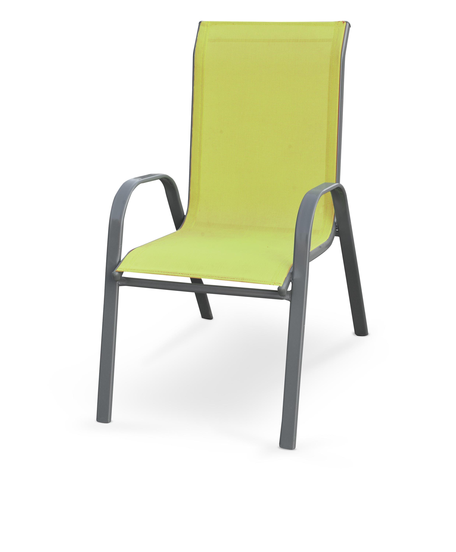 MOSLER záhradná stolička, zelená