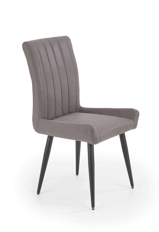 K367 jedálenská stolička tmavo šedá