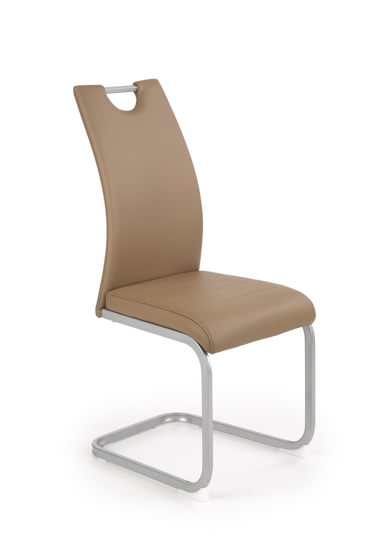 K371 stolička hnedá