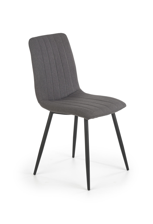K397 jedálenská stolička šedá