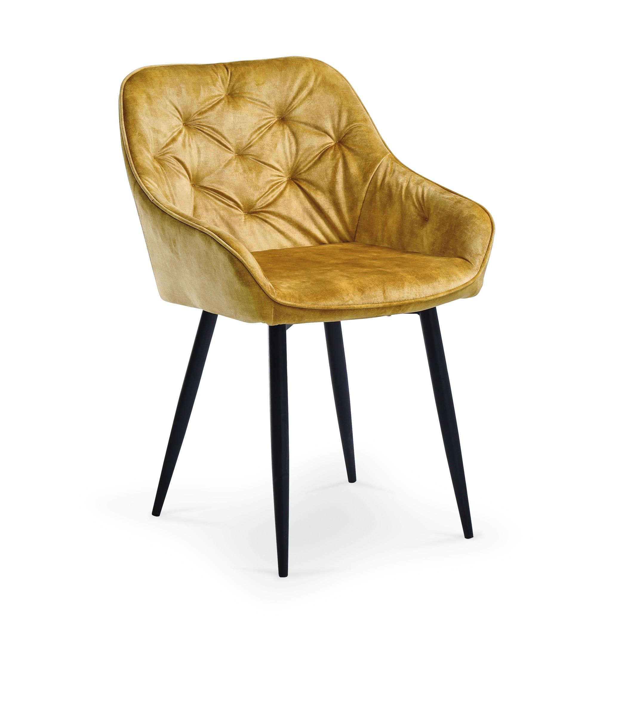 K418 stolička horčicová