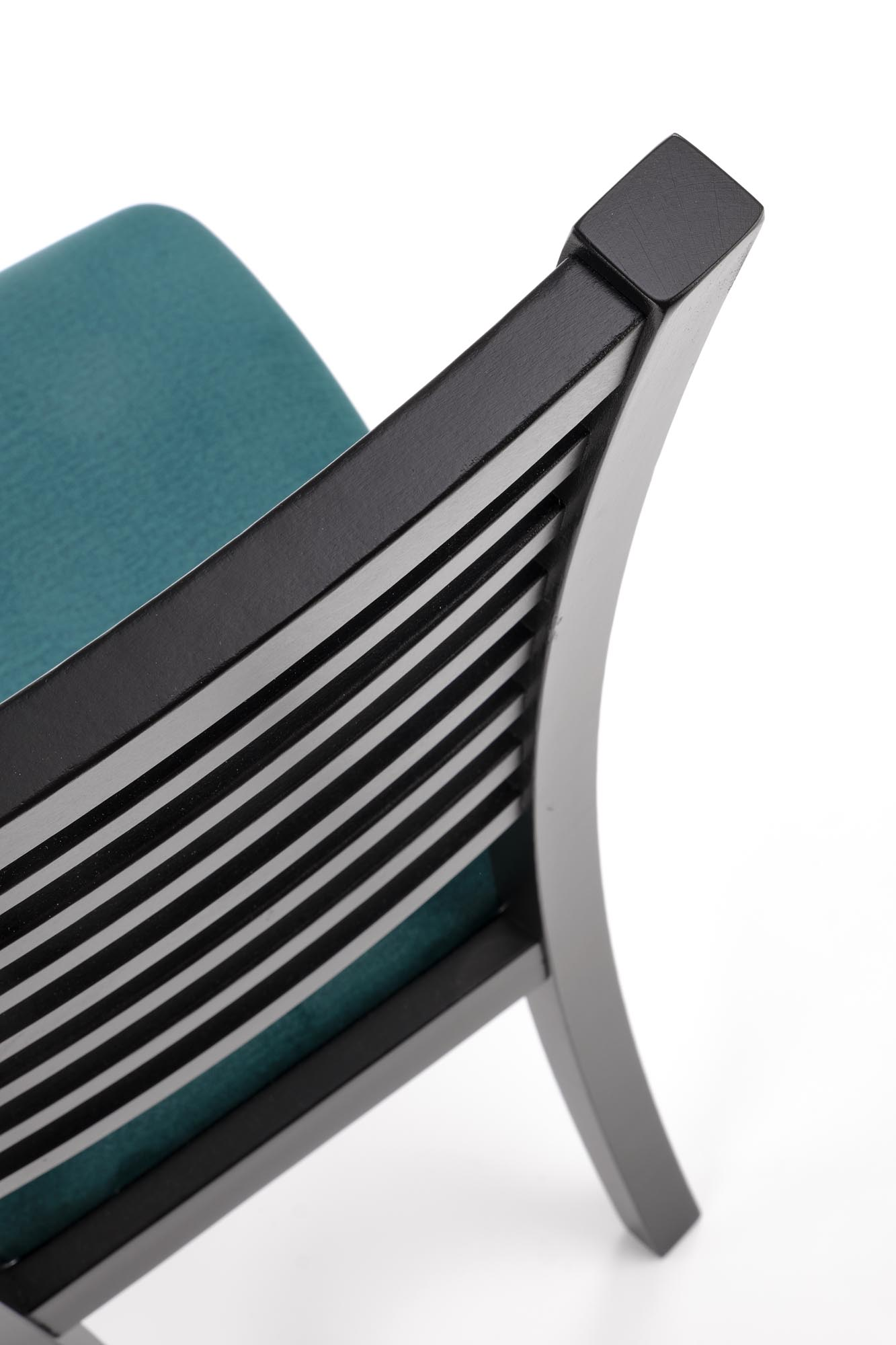 GERARD6 stolička čierna / čal: velvet Monolith 37 (tmavo zelená)
