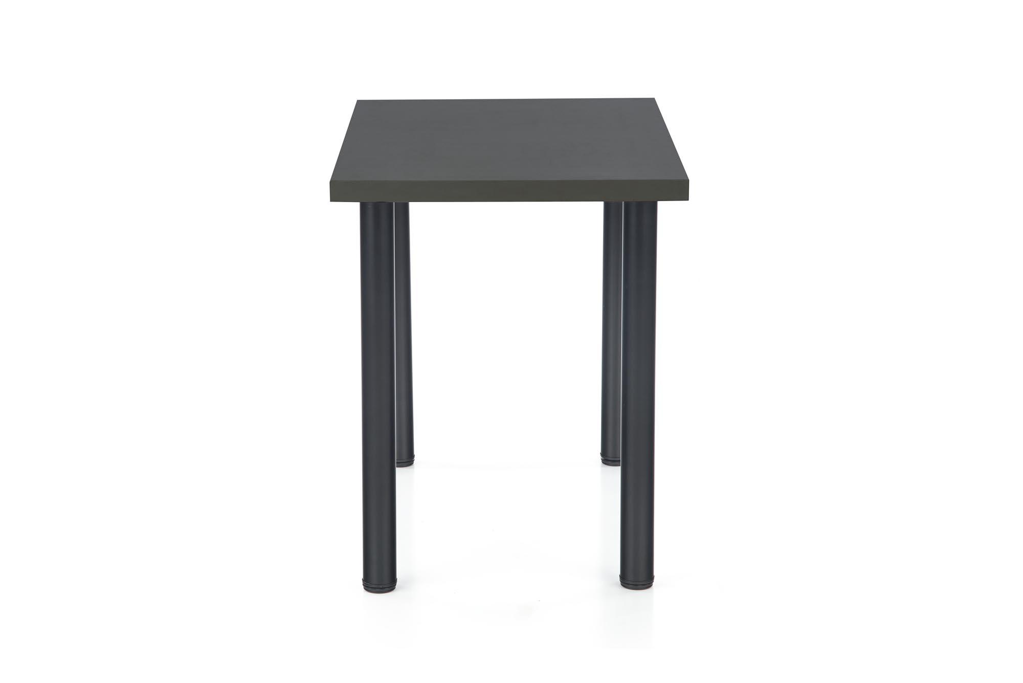 MODEX 2 90 stôl kolor doska - antracit, nohy - čierne