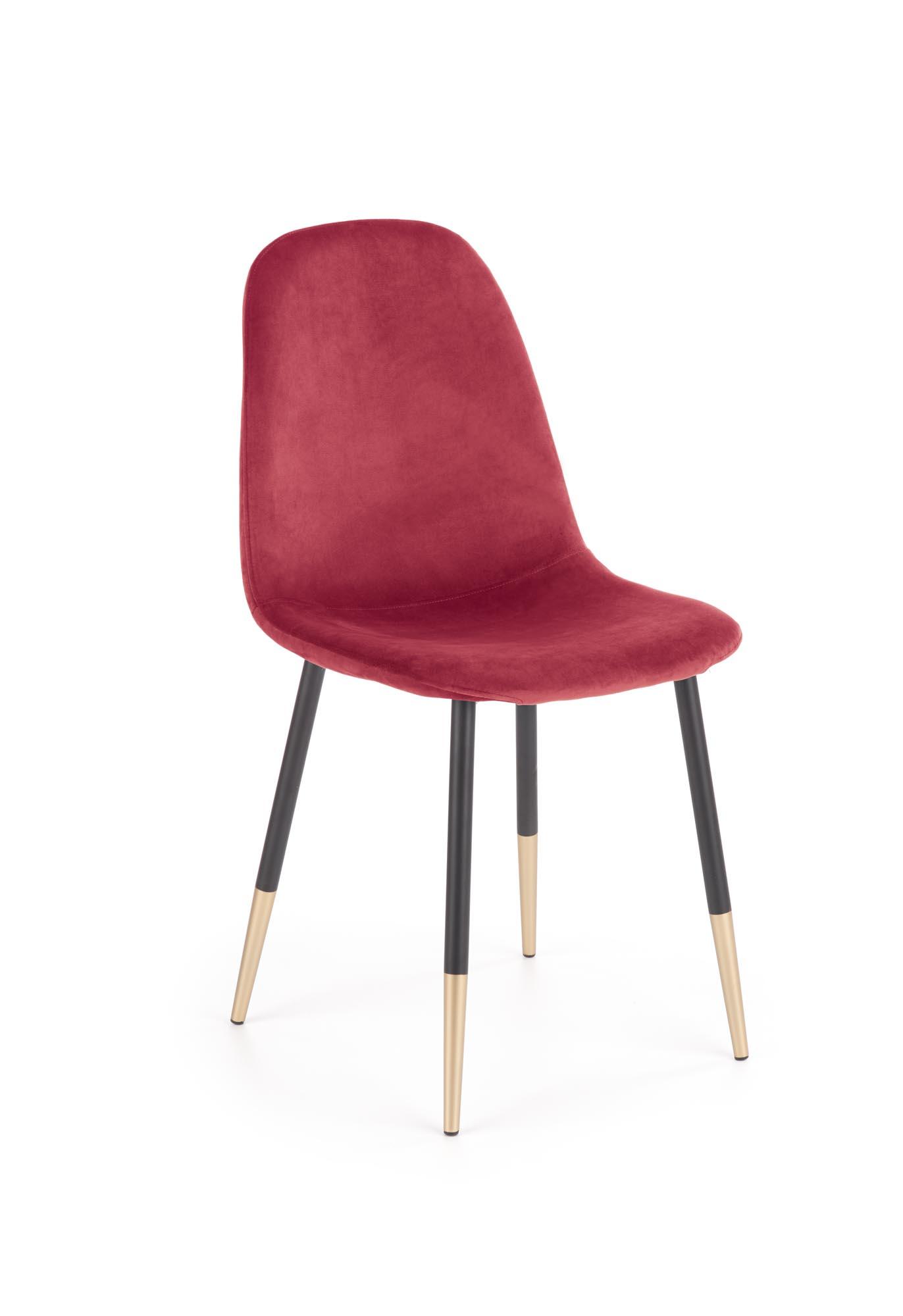 K379 stolička bordová