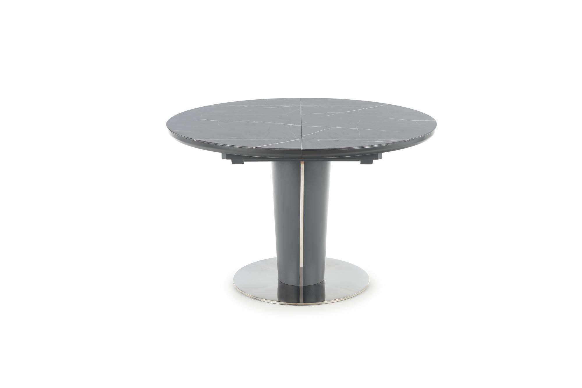 RICARDO rozkladací stôl šedý mramor