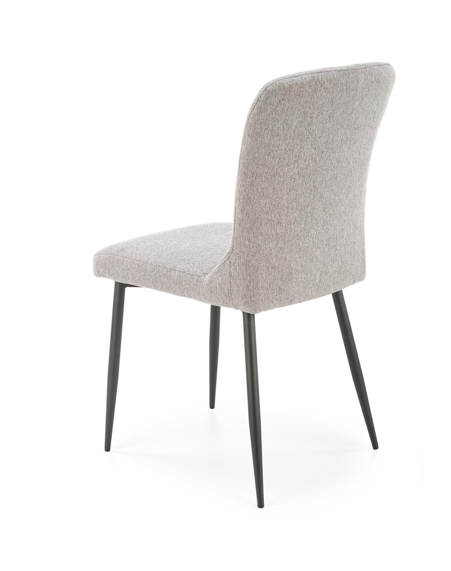 K428 stolička svetlo šedá