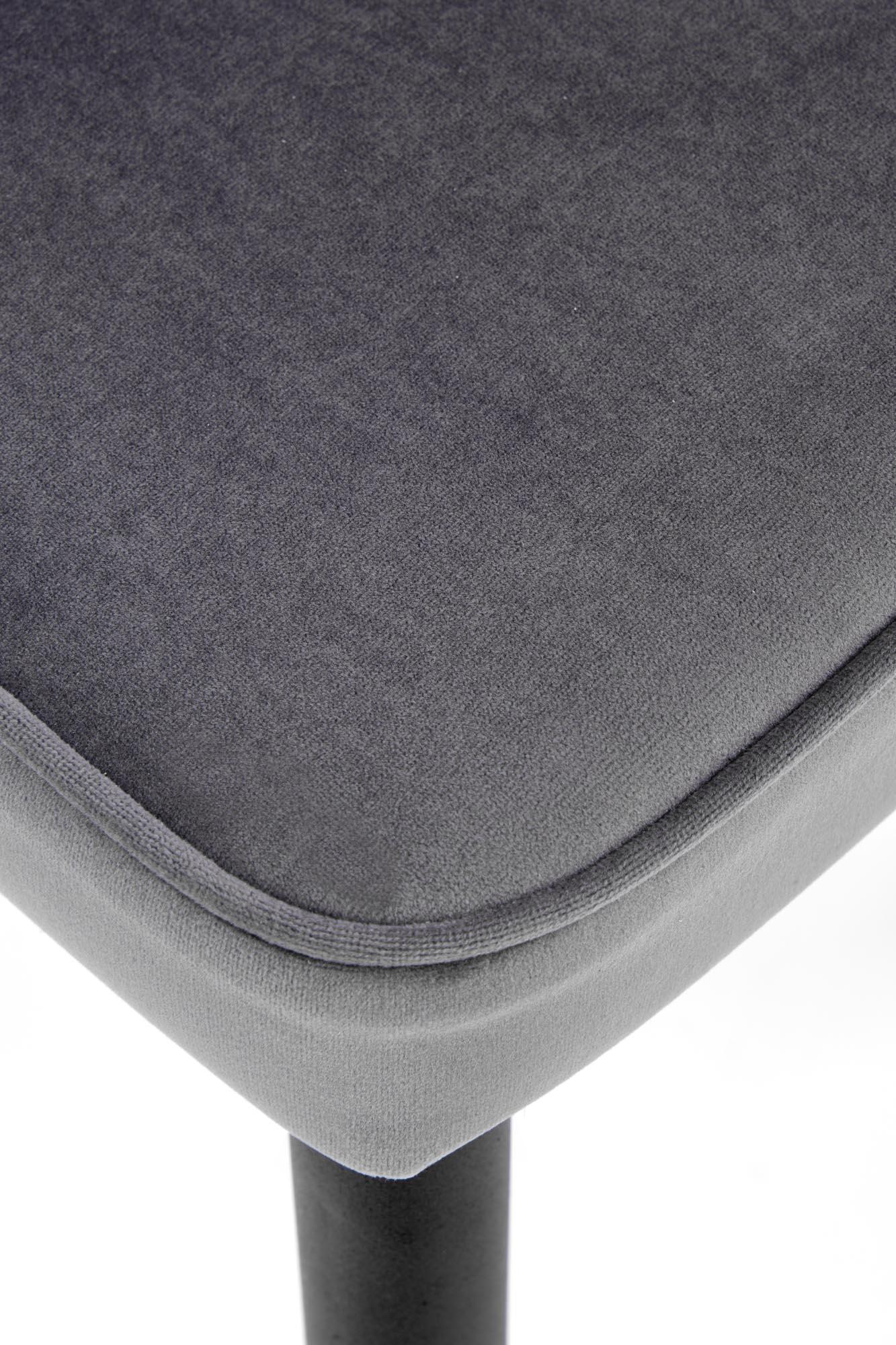 K446 stolička šedá