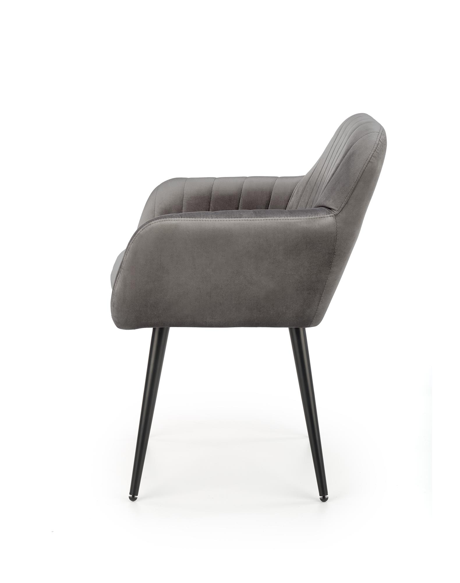 K429 stolička šedá