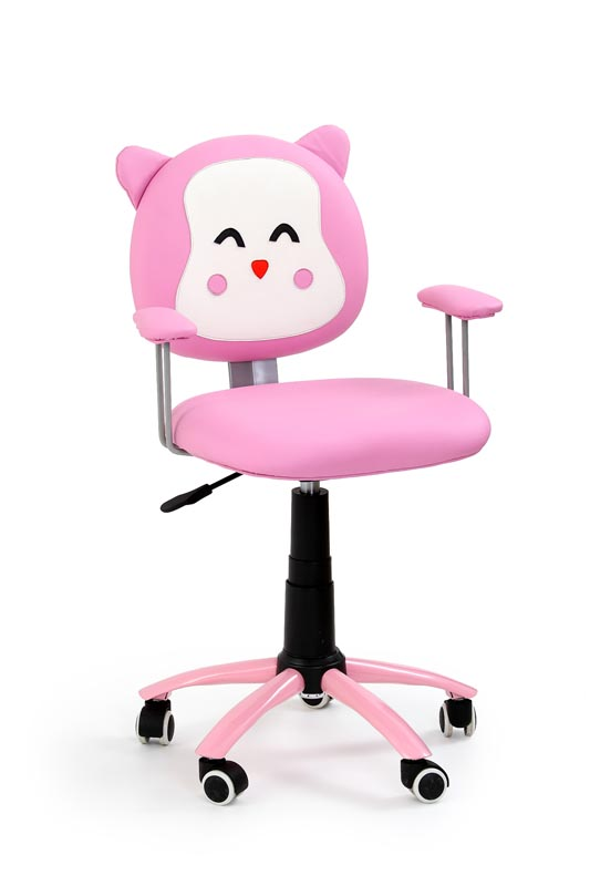 KITTY detská stolička ružová
