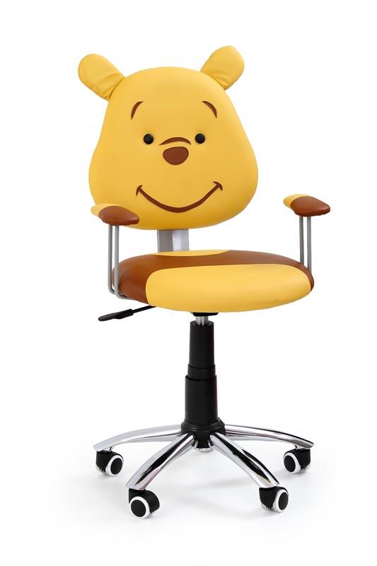 KUBUŚ detská stolička hnedá