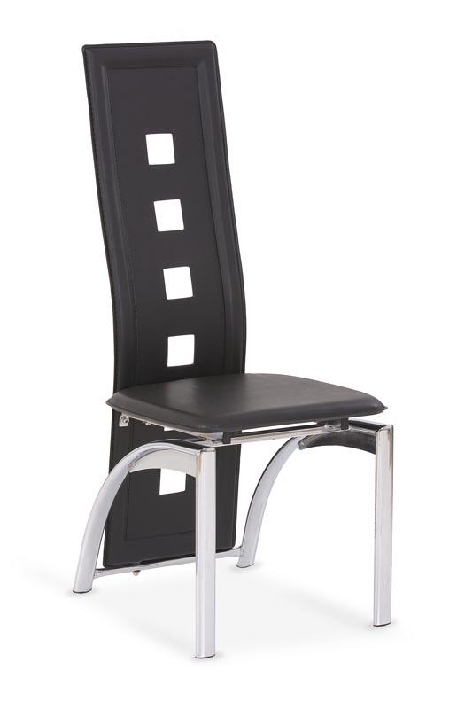 K4 stolička čierna