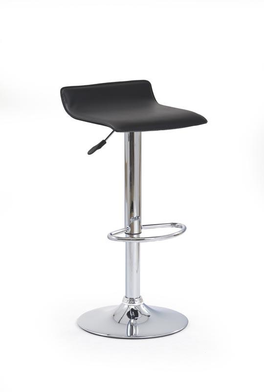 H1 barová stolička čierna