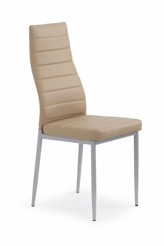 K70 stolička svetlo hnedá