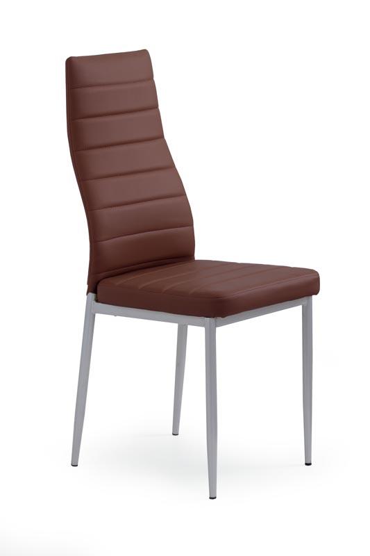 K70 jedálenská stolička tmavo hnedá