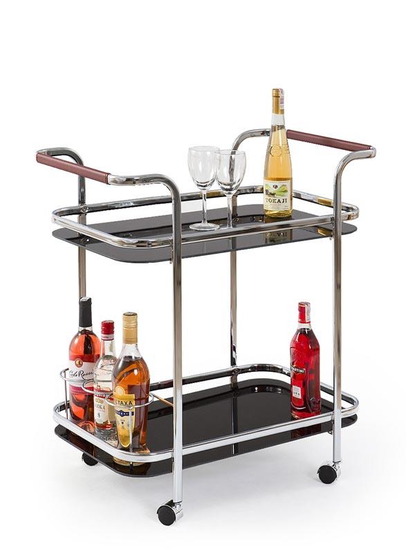 BAR7 stolík barový čierny