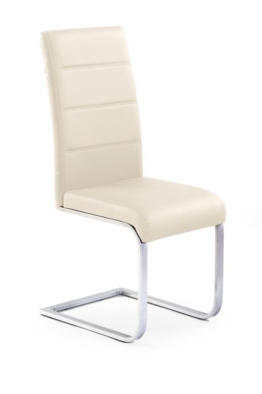 K85 stolička tmavo krem