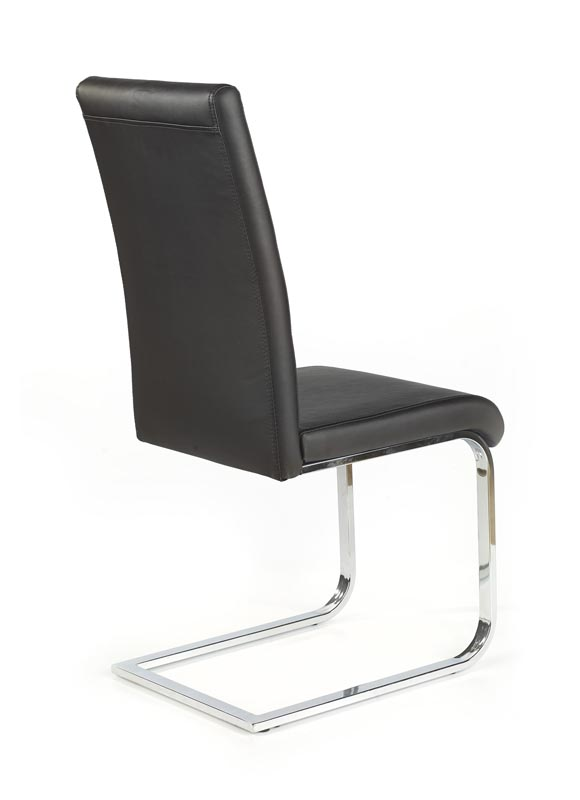 K85 stolička čierna