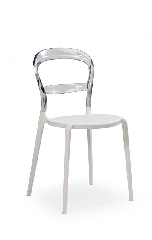 K100 jedálenská stolička transparent