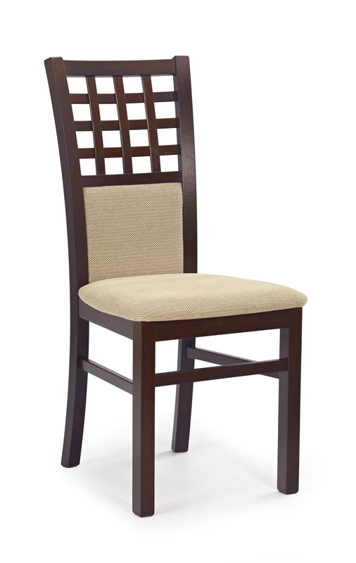 GERARD3 stolička tmavo orech / tap: Torent Beige