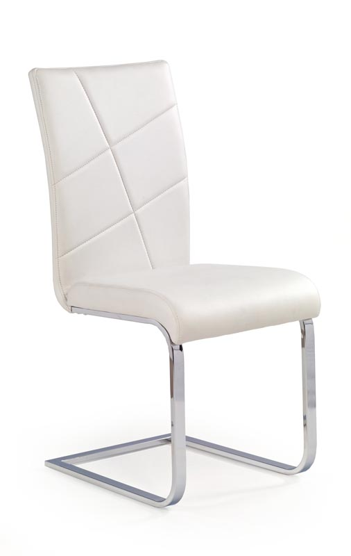 K108 stolička biela