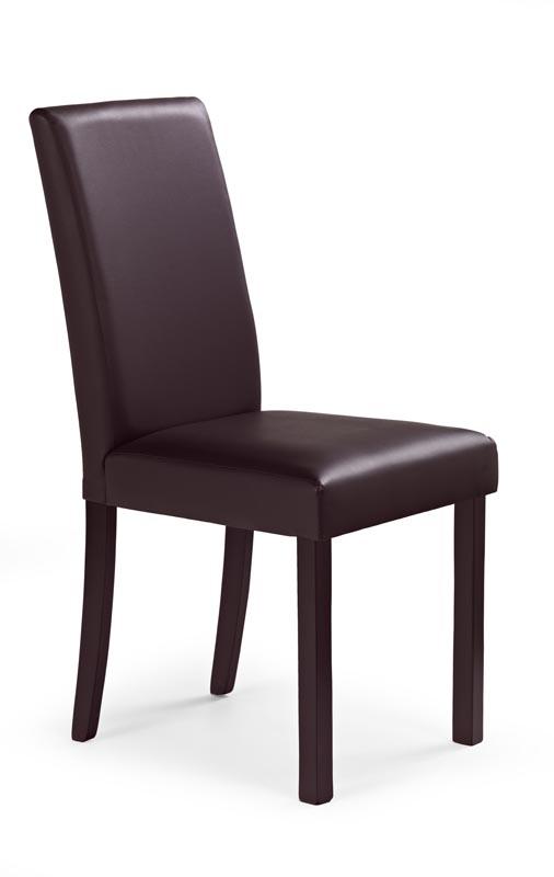 NIKKO stolička tmavý orech/tmavo hnedá