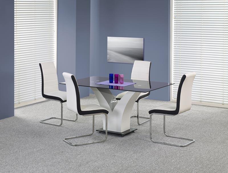 VESPER stôl čierny