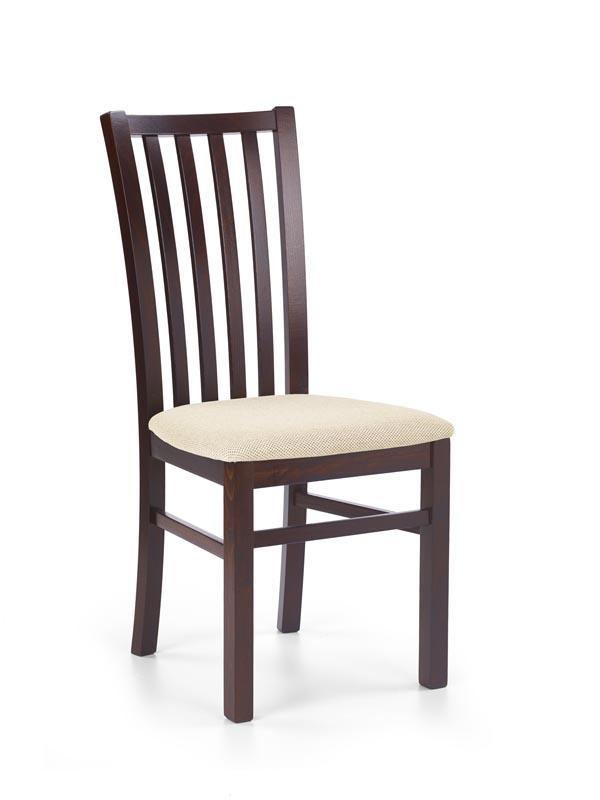 GERARD7 stolička tmavo orech / tap: Torent Beige