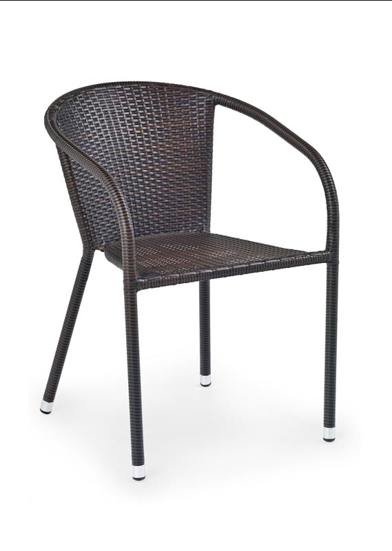 MIDAS stolička tmavo hnedá