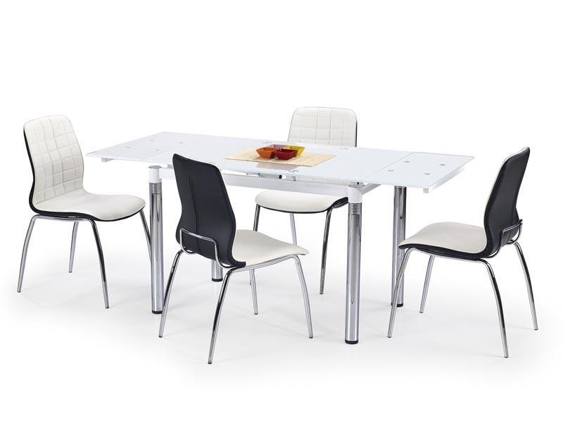 L31 stôl rozkladací biely