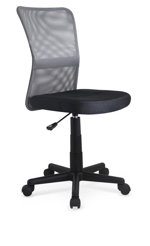 DINGO detská stolička šedá-čierna