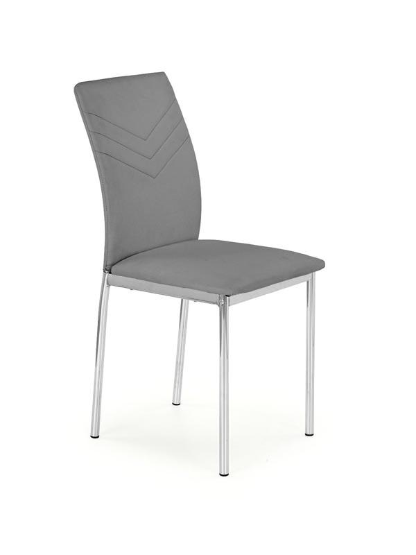 K137 stolička šedá