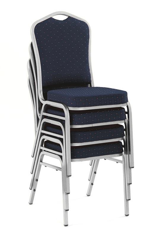 K66 jedálenská stolička modrá