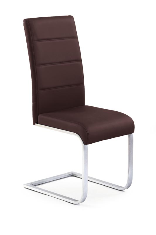 K85 stolička hnedá